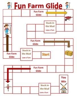 Fun Farm Glide Problem Solving Perimeter (Question Set A)