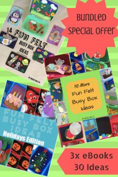 Fun Felt Busy Box Ideas Bundle