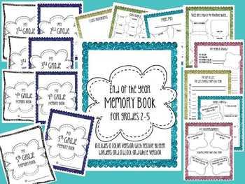 Fun & Festive End of Year Memory Book