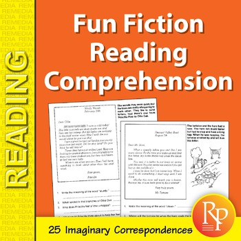 Fun Fiction Reading Comprehension