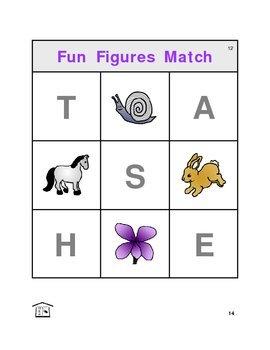 Fun Figures Match