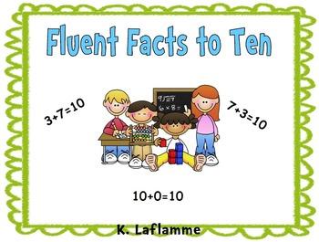 Fun Filled Fact Fluency To Ten