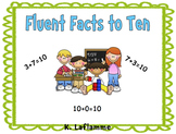 Fun Filled Fact Fluency To Ten