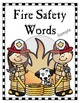 Fun Fire Safety Vocabulary Building Activities: Mini Booklet, Games, Worksheets