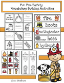 Fire Safety Activities: Fun Fire Safety Vocabulary Building Activities