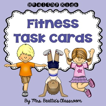 Fitness Task Cards