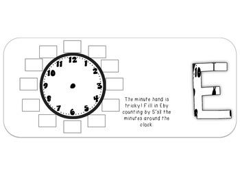 Fun Flip Book - Time