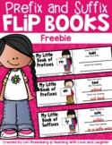 Prefix and Suffix Flip Book FREEBIE