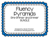 Fun Fluency Pyramids BUNDLE: Pre-Primer and Primer Words