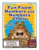Fun Foam Numbers and Numbers Chats - K & 1st Grade Math, Unit 1