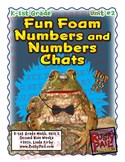 Fun Foam Numbers and Numbers Chats - K & 1st Grade Math, Unit 2