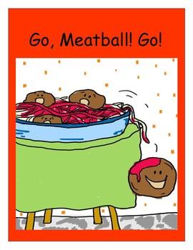 Fun Foldable Book - Go, Meatball! Go!