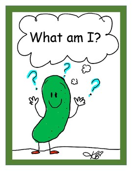 Fun Foldable Books and Activities - What Am I?