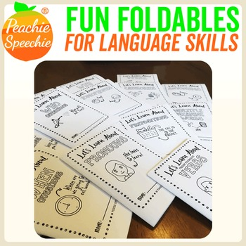 Fun Foldable Booklets for Language Skills