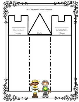 Graphic Organizers and Writing Prompts for Fairy Tales