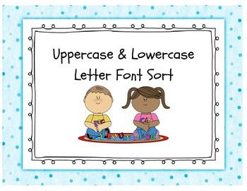 Uppercase/Lowercase Letter Sort