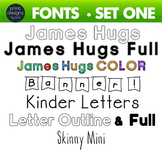 Fun Fonts - Handwriting Fonts - Color Fonts - SET ONE