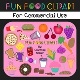 Fun Food Clipart for Commercial Use