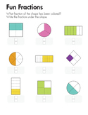 Fun Fraction - All about fraction practice