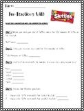 Fun Fraction Skittle Activity