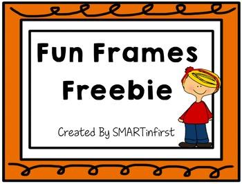 Fun Frame Freebie