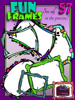 Fun Frames/Borders Clipart (Embellish Yourself Artworks)