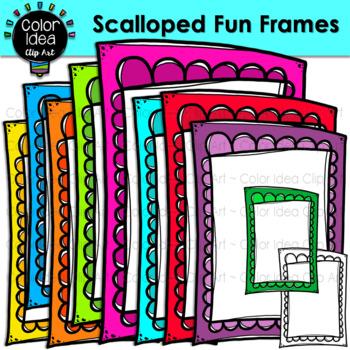 Scalloped Fun Frames