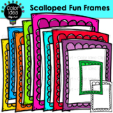 Scalloped Fun Frames