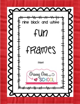 Fun Frames Freebie