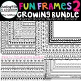 Fun Frames Growing Bundle 2 {100+ Borders and Frames}