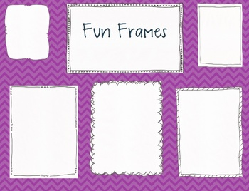 Fun Frames and Borders