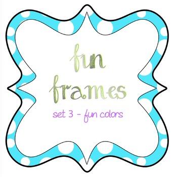 Fun Frames set 3