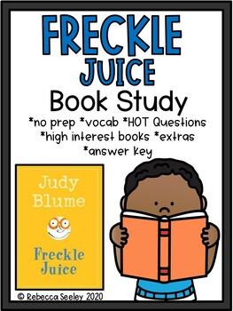Fun Freckle Juice Book Study