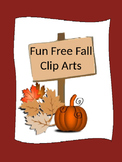 Fun Free Fall Clip Arts