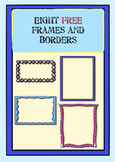 Fun Free Frames for Your Teaching Resources