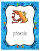 Fun & Free Go Fish Card Game for the Alphabet ~ 16 words with All Letters Used
