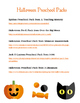 Fun Free Printables for Preschool--Halloween and Silly Monsters