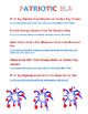 Fun Free Printables for Preschool Summer, 4th of July, and Camping