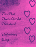 Fun Free Printables for Preschool  Valentine's Day