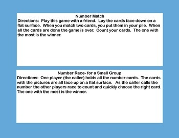 Fun Freebie-Matching Numbers 1-10 Counting With The Crabs