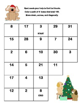 Fun Freebie for Christmas  Grades 2-3