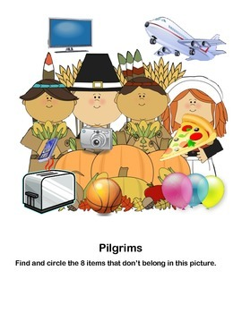 Fun Freebie for Thanksgiving  Grades 1-2