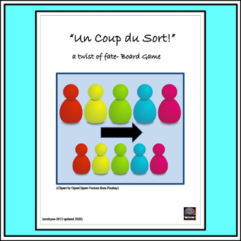 Fun French Board Game! – Un Coup du Sort