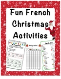 Fun French Christmas Activities