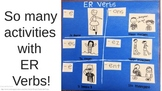 ER Verbs: Fun French Classroom Poster