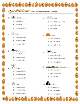 Fun French Halloween Activities