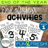 END OF THE YEAR Activities: Fun & Fresh!