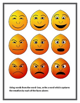 Fun Friday #3: Vocabulary Describing Emotions