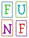Fun Friday Behavior Motivator