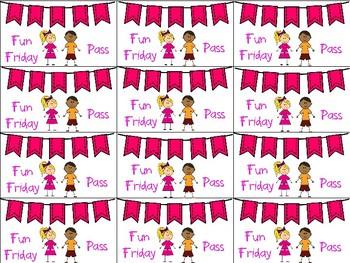 Fun Friday Coupons